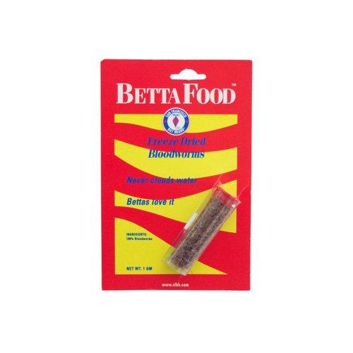 San Francisco Bay Brand Betta Food Freeze Dried Bloodworms