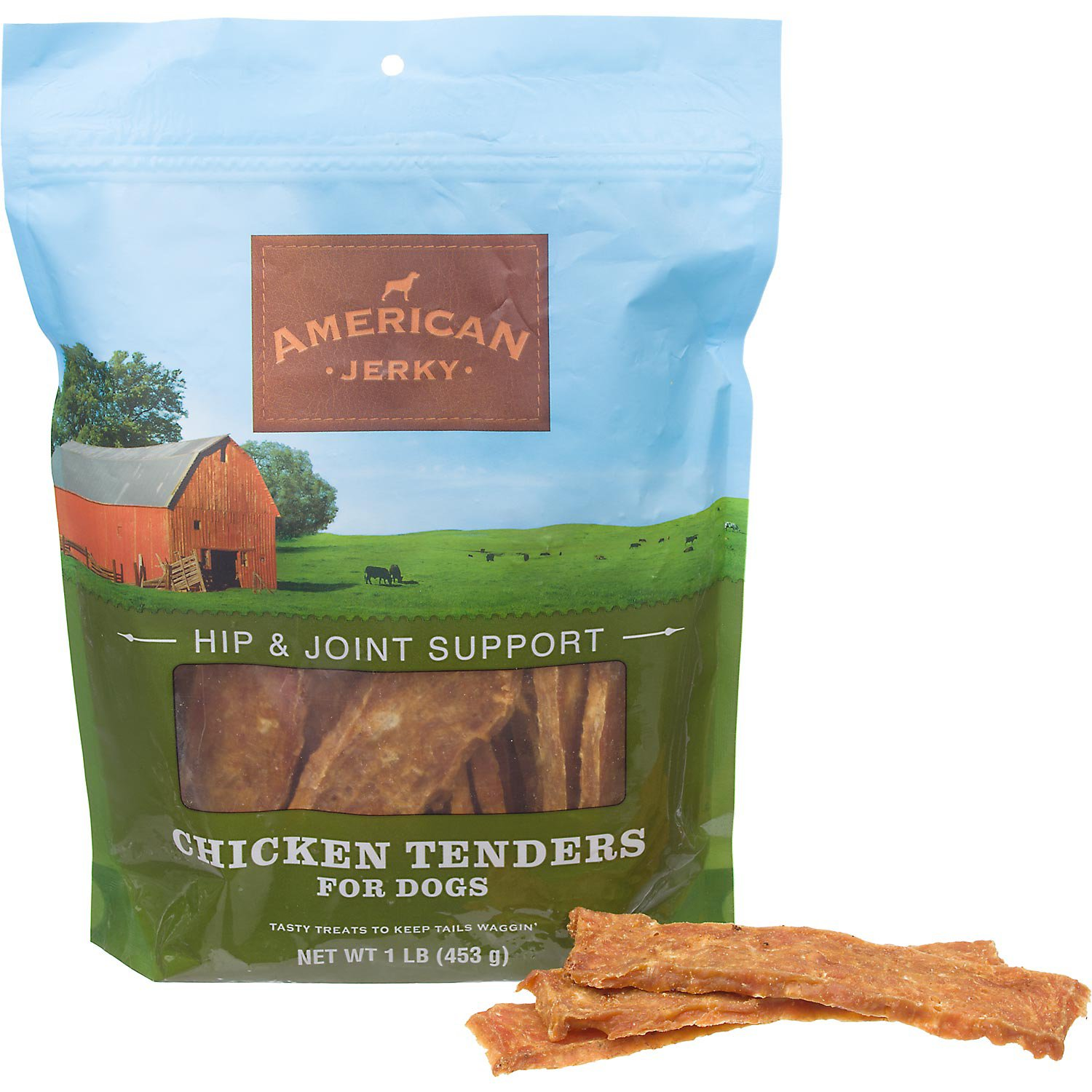 American Jerky Hip & Joint Support Chicken Tenders Dog Treats
