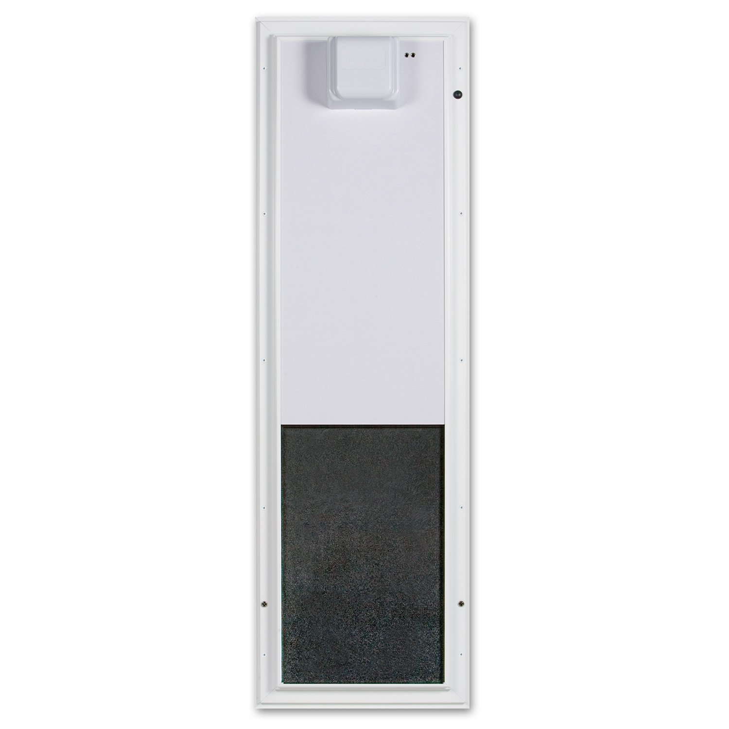 Plexidor Large Door Mount PDE Electronic Pet Door in White