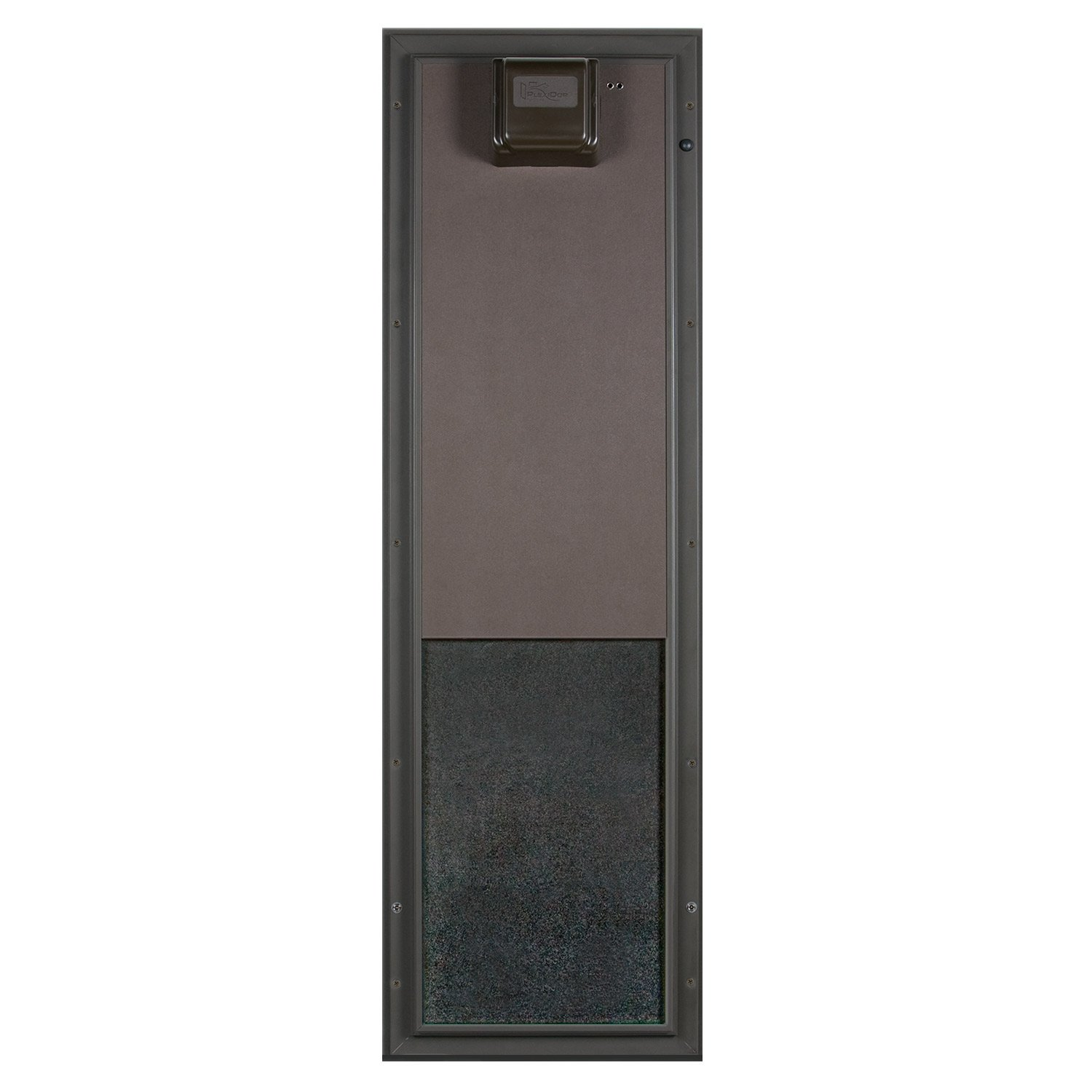 Plexidor Large Wall Mount PDE Electronic Pet Door in Bronze