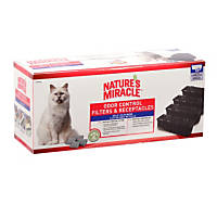 Nature's Miracle Self Cleaning Litter Box Filter and Receptacle Pack
