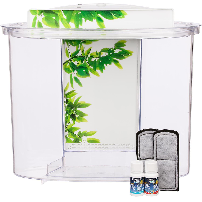 Fluval View Oval Plastic Aquarium Petco