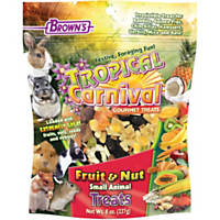 Brown's Tropical Carnival Fruit & Nut Small Animal Treats