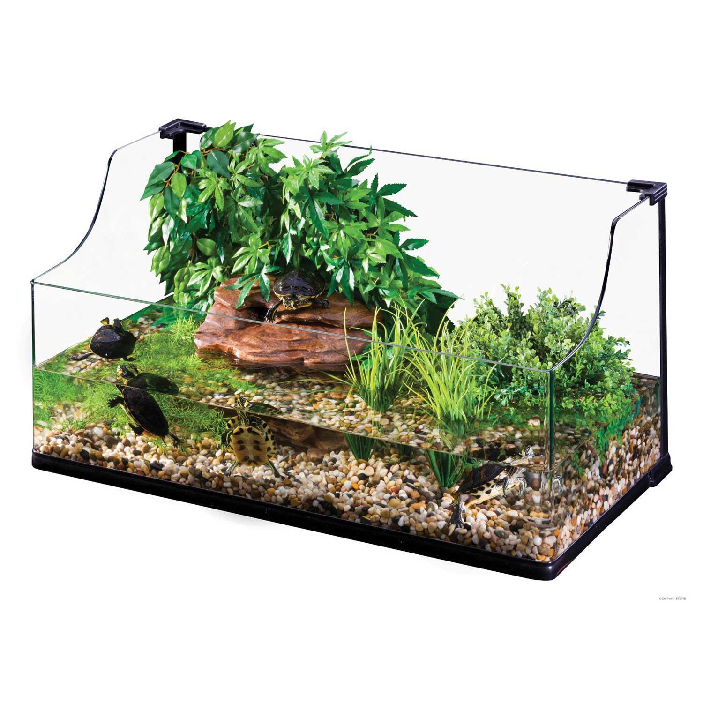 Exo-Terra Bent Glass Turtle Terrarium