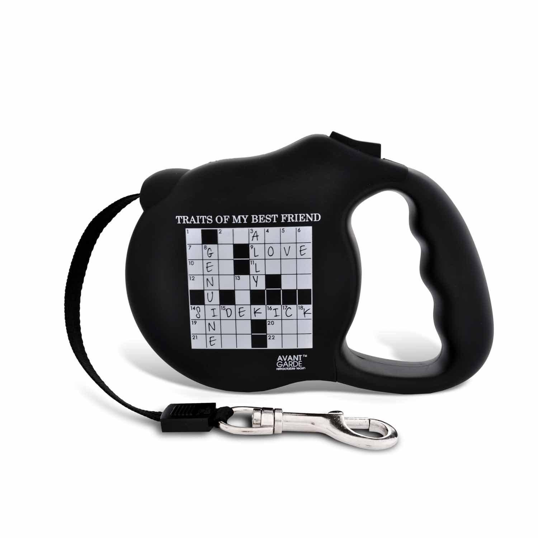 Avant Garde Crosswords Retractable Dog Leash