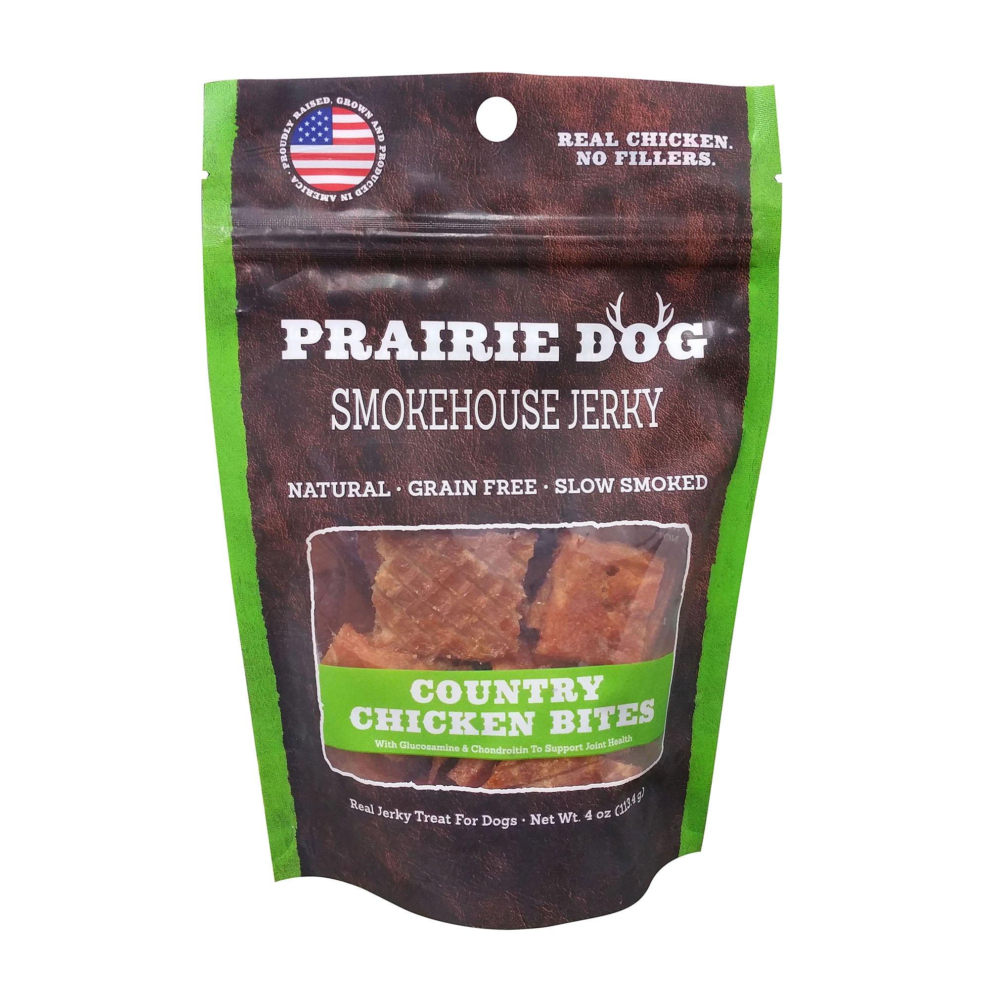 Prairie Dog Jerky Bites Dog Treats