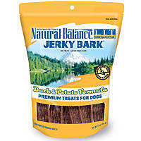Natural Balance L.I.T. Limited Ingredient Treats Duck & Potato Jerky Bark