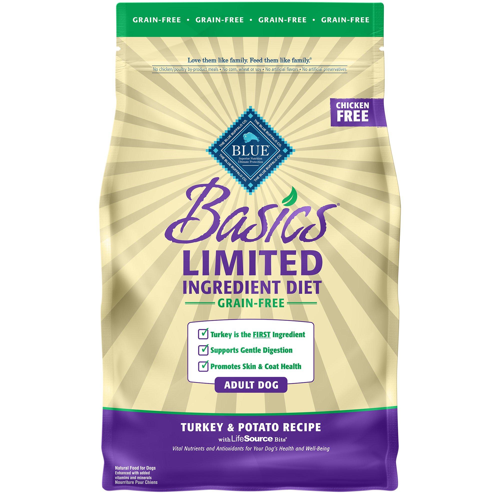 Ingredient List Blue Buffalo Dog Food