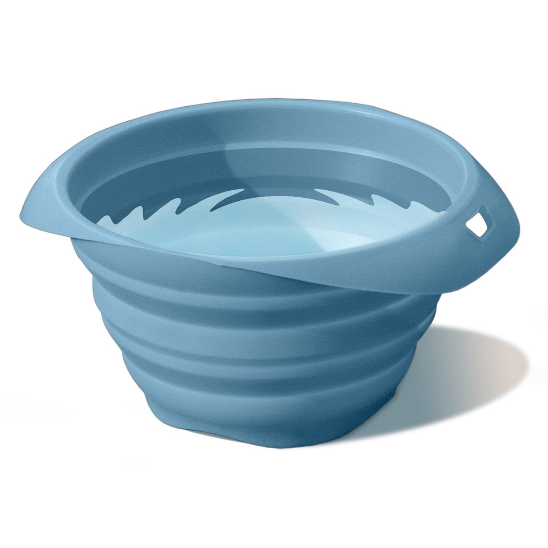 Kurgo Collaps-a-Bowl Blue Travel Bowl