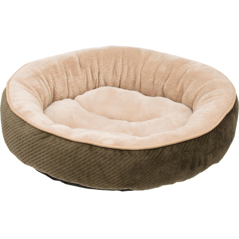 Petco Textured Round Cat Bed in Fern