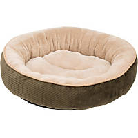 Petco Textured Round Cat Bed in Fern