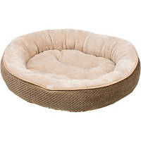 Petco Textured Round Cat Bed in Sand