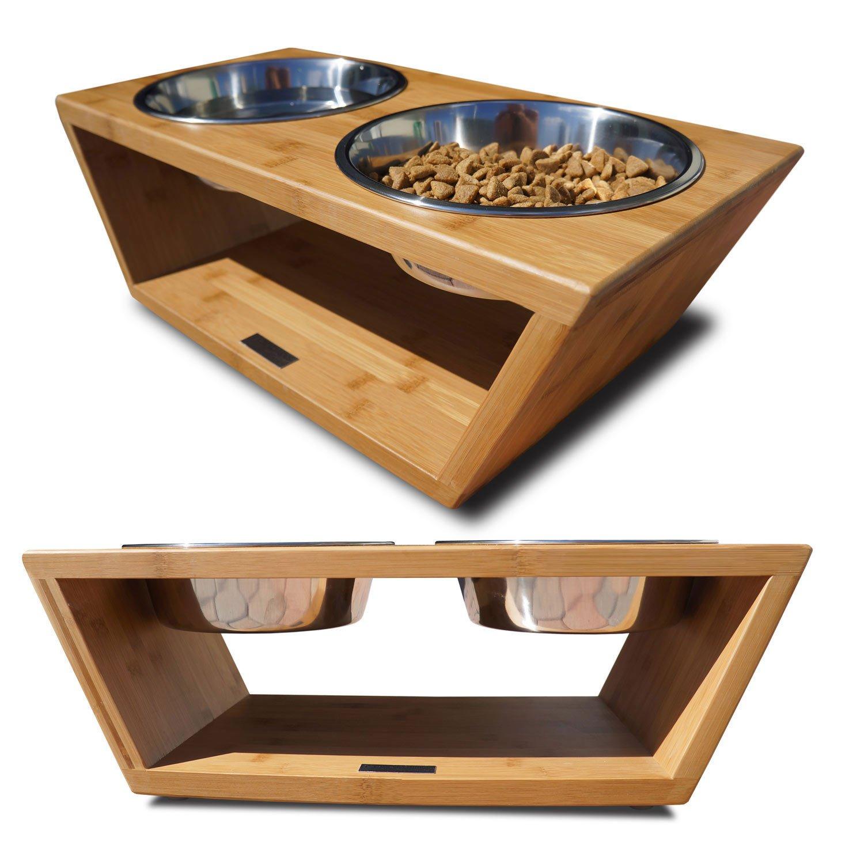 Pet Lounge Studios Bambu Angled Diner