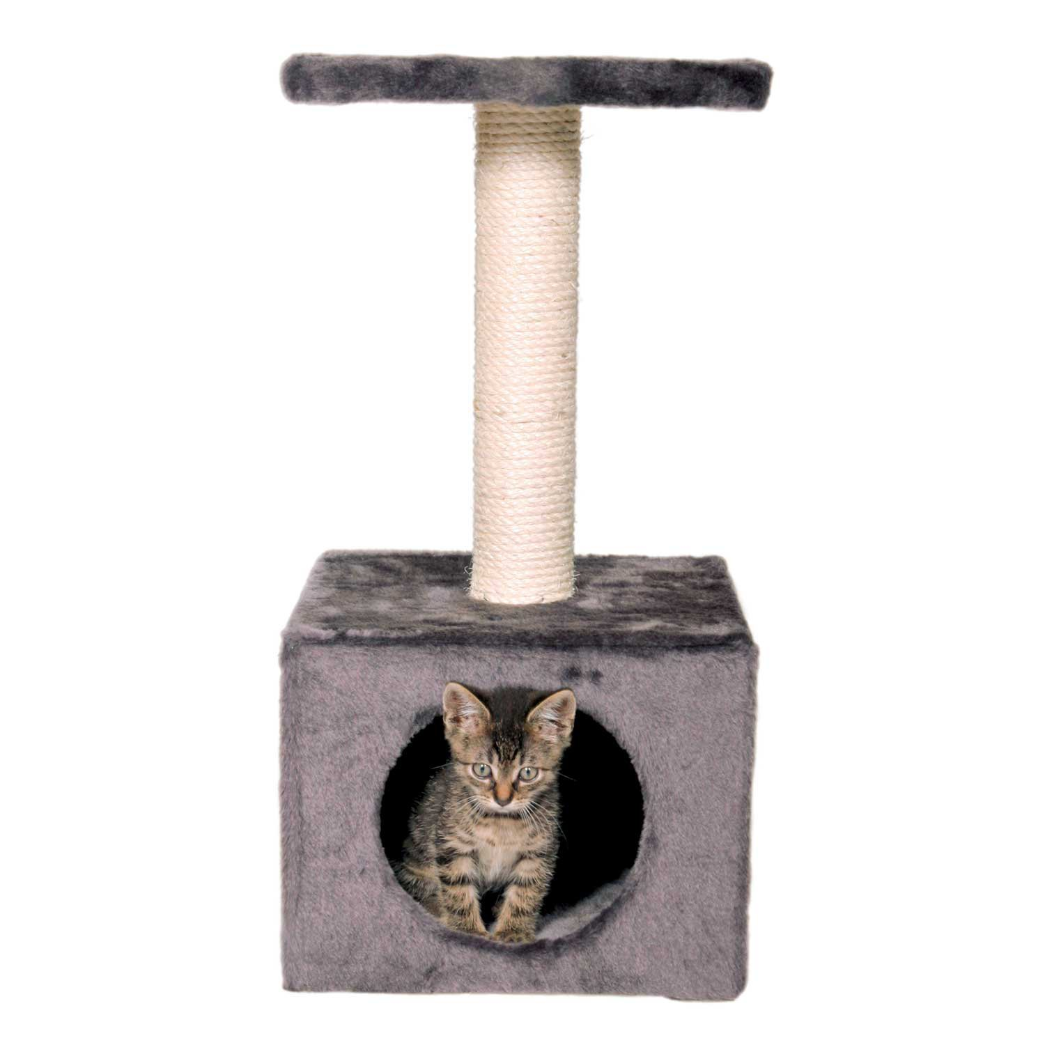 Trixie Zamora Gray Scratching Post