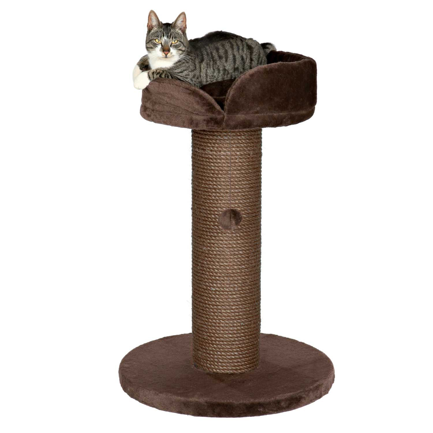 Trixie Pepino Scratching Post in Chocolate Brown