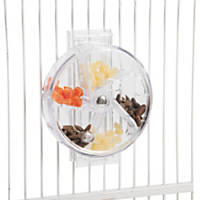 Caitec Creative Foraging Systems Clear Foraging Wheel