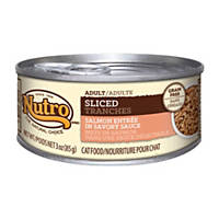 Nutro Sliced Entree Canned Adult Cat Food, Salmon