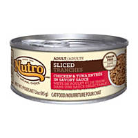 Nutro Sliced Entree Canned Adult Cat Food, Chicken & Tuna