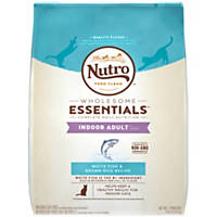 Nutro Whitefish & Whole Brown Rice Indoor Adult Cat Food