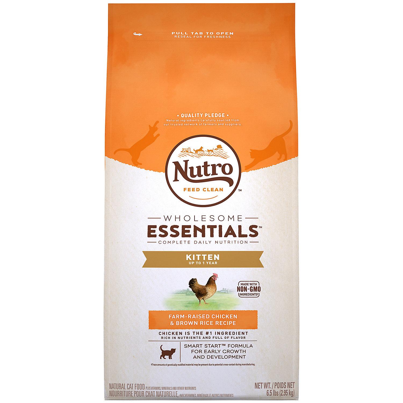 Nutro Wholesome Essentials Chicken & Whole Brown Rice Kitten