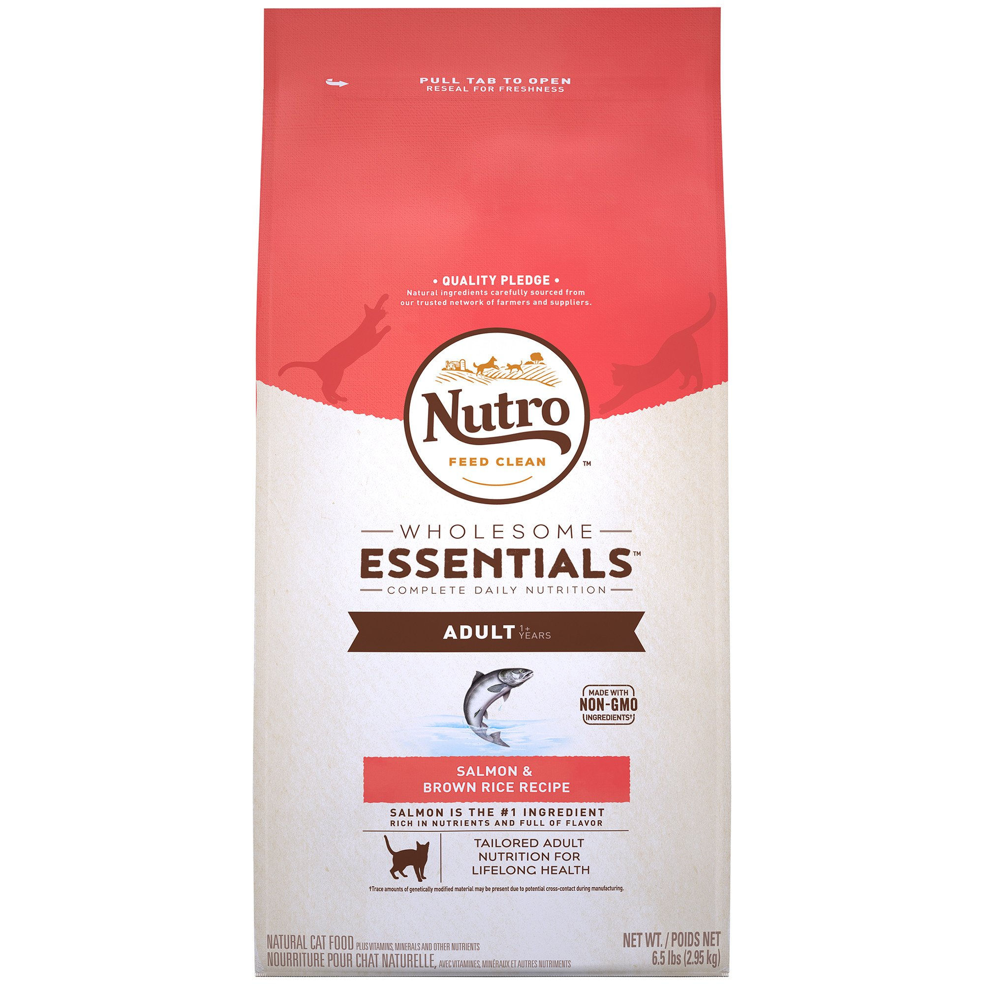 Nutro Wholesome Essentials Salmon & Whole Brown Rice Adult Cat Food
