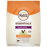 Nutro Chicken & Whole Brown Rice Indoor Senior Cat Food, 6.5 lbs.