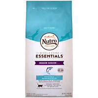 Nutro Natural Choice Whitefish & Whole Brown Rice Indoor Senior Cat Food