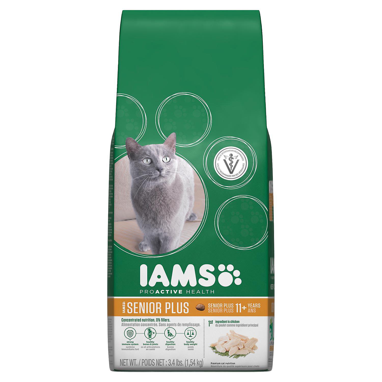 Iams Proactive Health Senior Plus Dry Cat Food