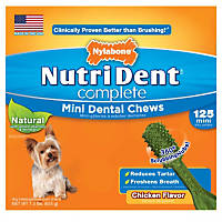 Nylabone Nutri Dent Complete Dental Chew for Dogs
