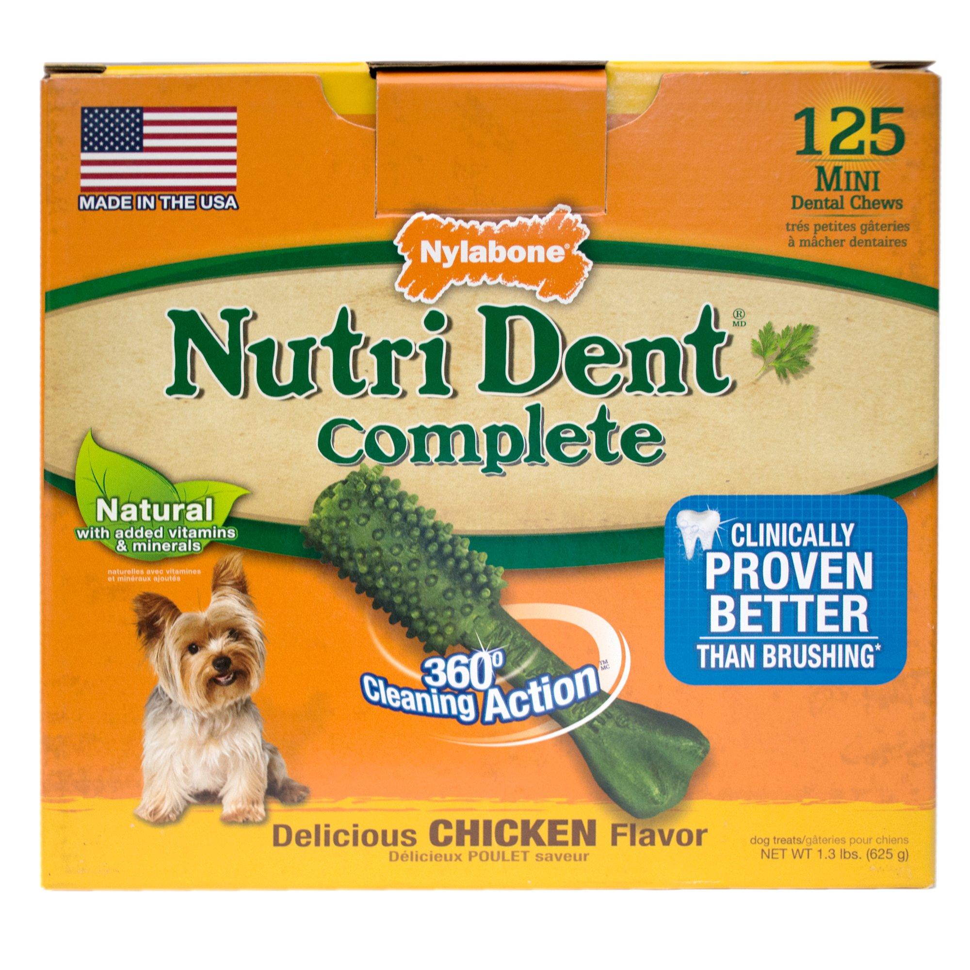 Nylabone Nutri Dent Complete Dental Chew for Dogs