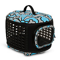 Petmate Curvations Metro Pattern Pet Retreat Carrier