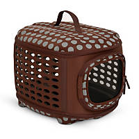 Petmate Curvations Polka Dot Pet Retreat Carrier
