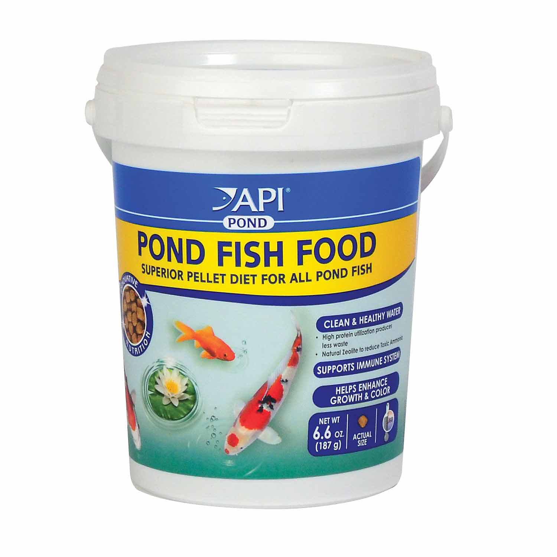 Api Pond Fish Food 6.6 Oz.