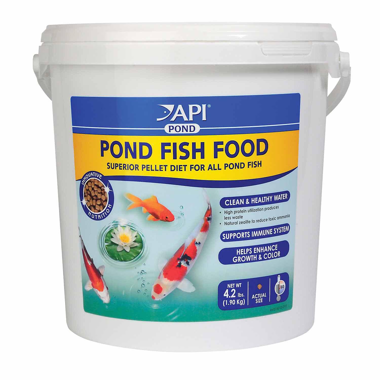Upc 317163051986 api pond fish food 4 2 lbs for Petco fish food