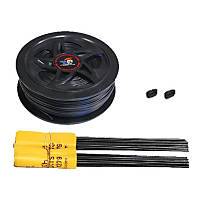 High Tech Pet Humane Contain Wire and Flag Kit for X-10 In Ground Pet Fence