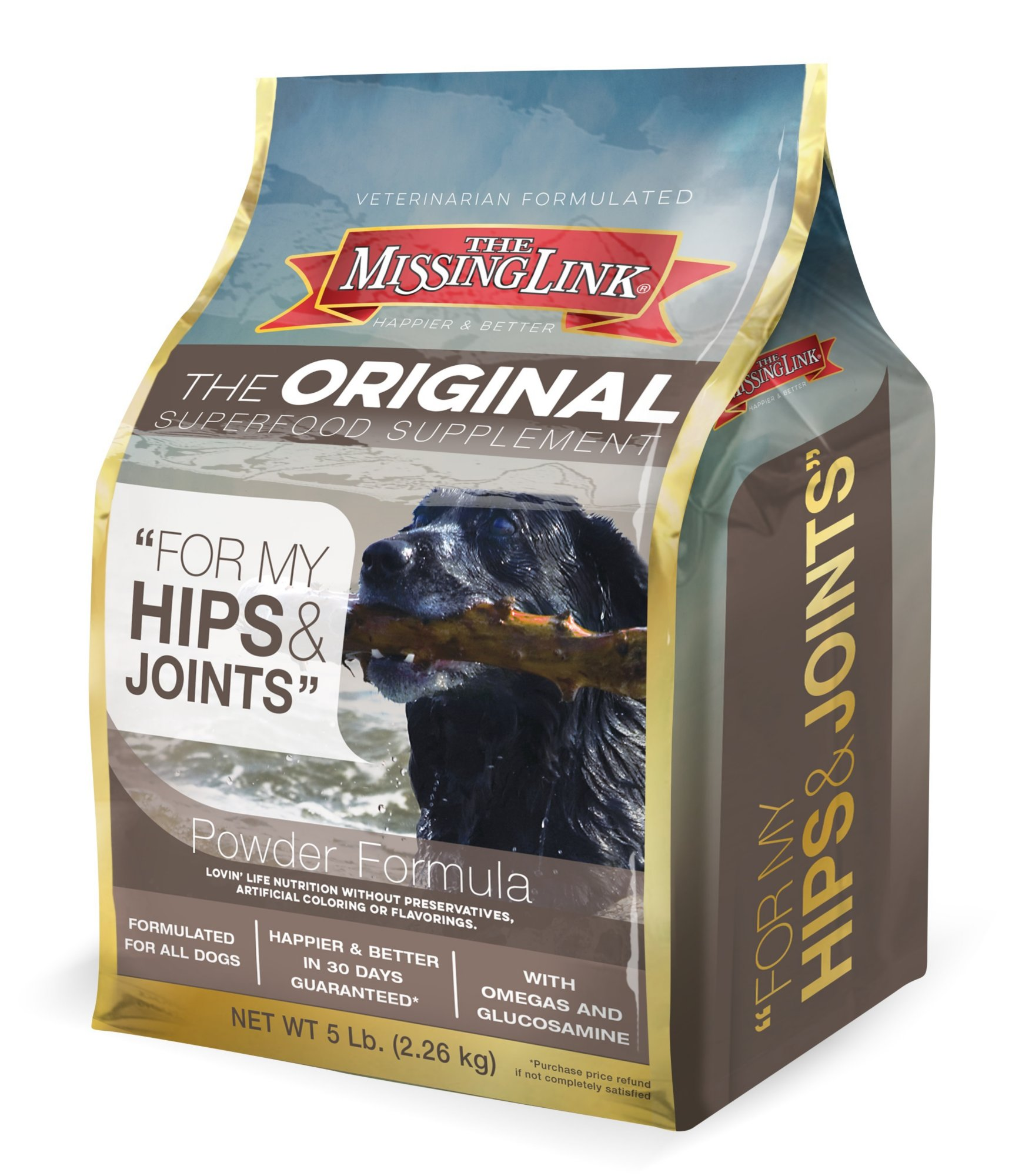 The Missing Link Ultimate Hip & Joint Food Supplement For Dogs