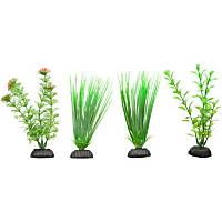 Petco Green Plastic Aquarium Plants Foreground Value Pack