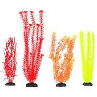 Petco Plastic Aquarium Plants Background Value Pack