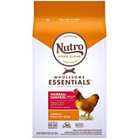 Nutro Chicken & Whole Brown Rice Hairball Control Adult Cat Food