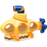 Petco Yellow Submarine Aquarium Ornament