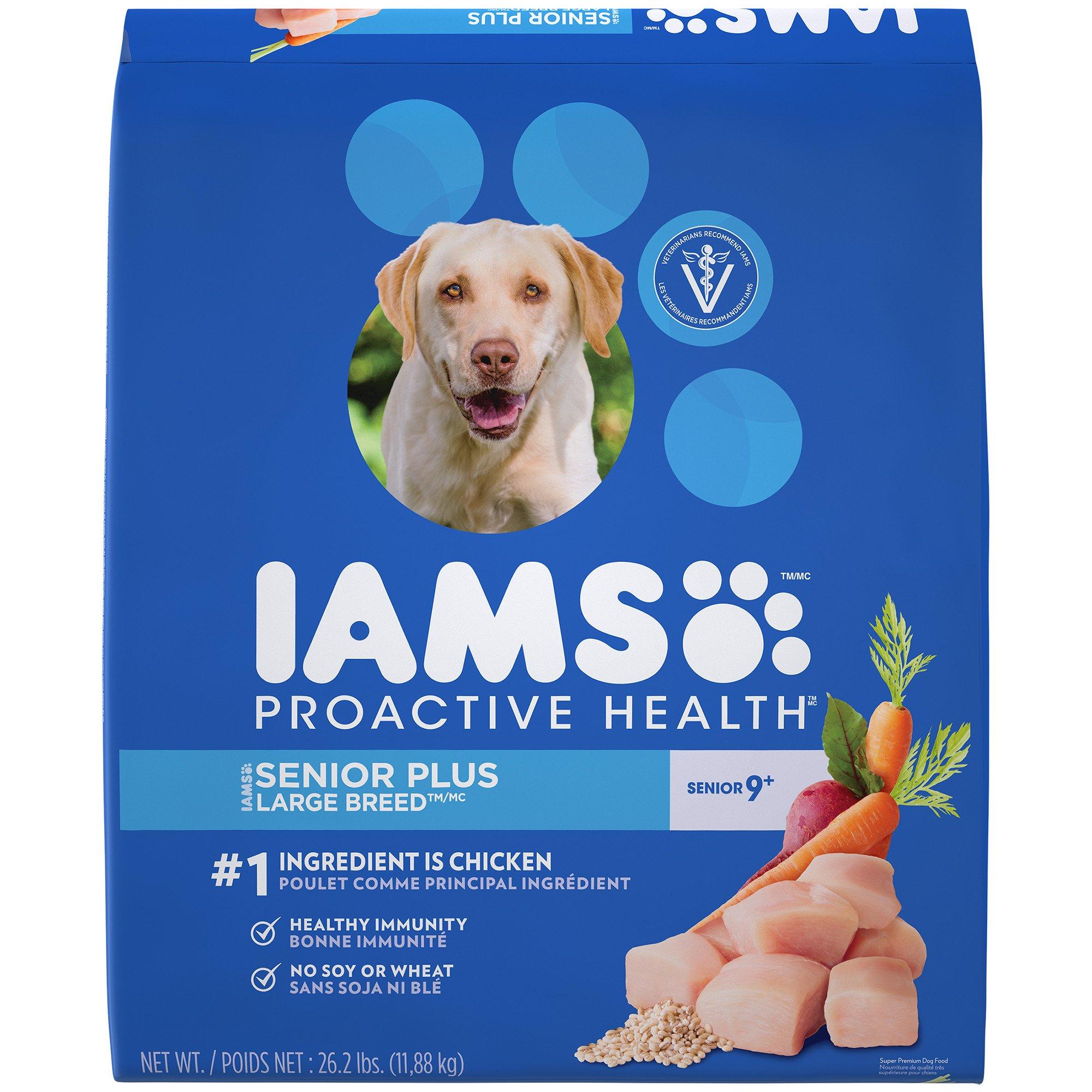 Iams ProActive Health Senior Plus Large Breed Dog Food