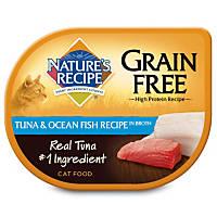 Nature's Recipe Grain Free Tuna & Ocean Fish Adult Cat Food Trays