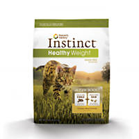 Nature's Variety Instinct Healthy Weight Grain-Free Chicken Meal Cat Food