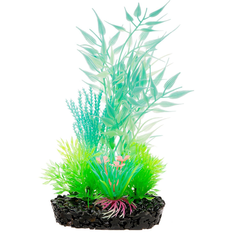 Penn Plax Aqua Plant Glow-Pod Bamboo Leaf Plastic Aquarium Plant