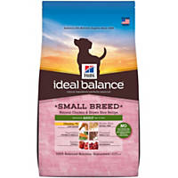Hill's Ideal Balance Chicken & Brown Rice Small Breed Adult Dog Food