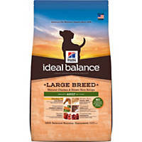 Hill's Ideal Balance Chicken & Brown Rice Large Breed Adult Dog Food
