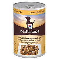 Hill's Ideal Balance Tender Chicken & Vegetables Canned Adult Dog Food