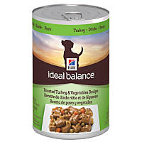 Hill's Ideal Balance Turkey & Vegetables Canned Adult Dog Food