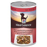 Hill's Ideal Balance Slow-Cooked Beef & Vegetables Canned Adult Dog Food