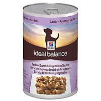 Hill's Ideal Balance Braised Lamb & Vegetables Canned Adult Dog Food